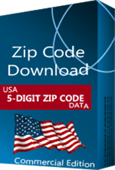 USA - 5-digit ZIP Code Database, Commercial Edition