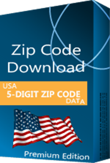 USA - 5-digit ZIP Code Database, Premium Edition (Redistribution License)