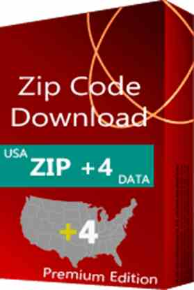 USA - ZIP+4 Database, Premium Edition