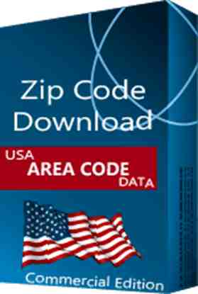 Area Code Database NPA NXX, Commercial Edition