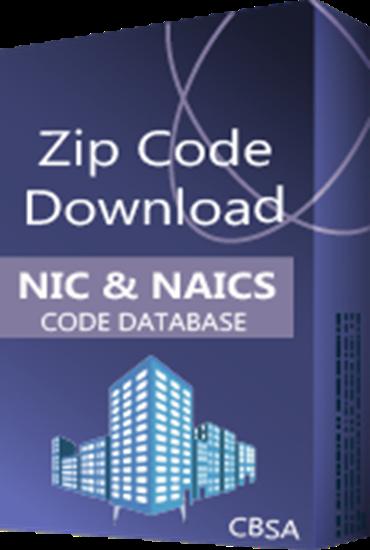 USA - SIC & NAICS Code Databases (Redistribution License)