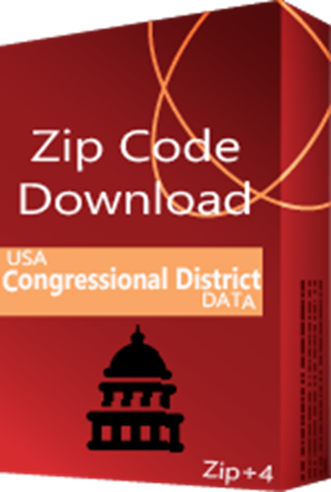 Congressional Districts ZIP+4 Database - for the 116th US Congress
