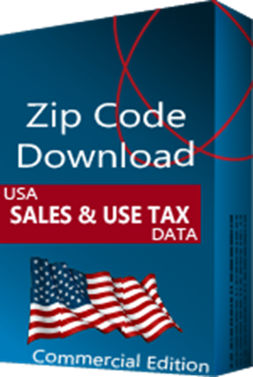 Sales & Use Tax Database, Commercial Edition (Redistribution License)