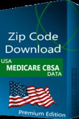 CBSA Medicare Database, Premium Edition