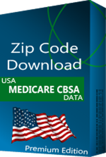CBSA Medicare Database, Premium Edition (Redistribution License)